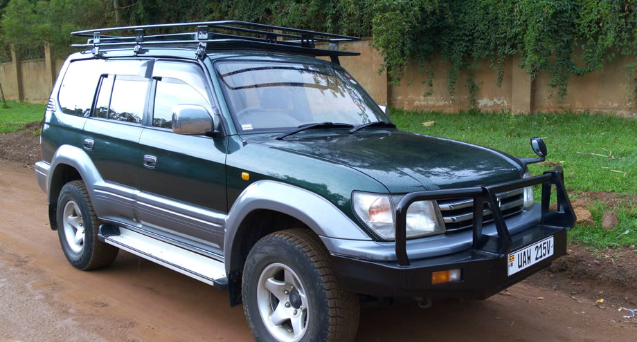 4x4 Toyota Prado with Pop-up roof, Manual Transmission, 3.0 Turbo Diesel Engine.
