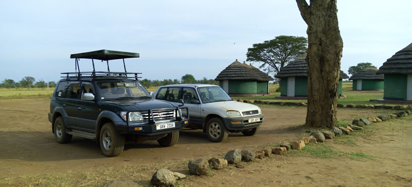 Toyota Prado with Pop-up and Rav4